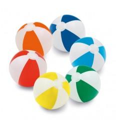 Balón Hinchable Tamaño Mediano con logo promocional. Variedad de colores.