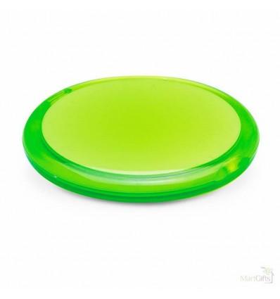 Espejo de Maquillaje Redondo Doble - Color Verde