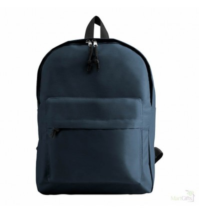 Mochila con Bolsillo Frontal promocional Color Azul