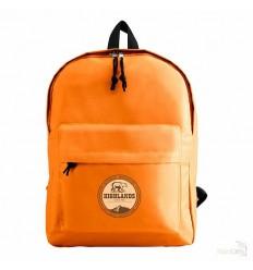 Mochila con Bolsillo Frontal Personalizada Color Naranja