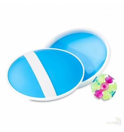 Palas con Pelota de Ventosa - Color Azul