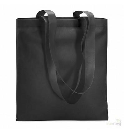 Bolsa de la Compra en Non Woven Reutilizable Promocional Color Negro