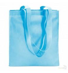 Bolsa de la Compra en Non Woven Reutilizable para Publicidad Color Turquesa