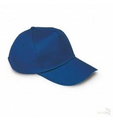 Gorra de Béisbol 5 Paneles para Campañas Publicitarias Color Azul