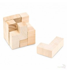 Puzzle de 7 Piezas de Madera Publicidad