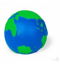 Pelota Antiestrés en PU Color Azul/Verde