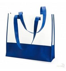 Bolsa de la Compra o Playa Bicolor para Publicidad Color Azul