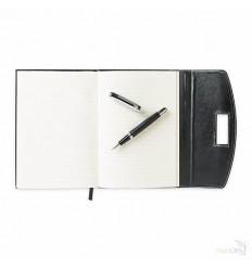 Portafolio de PU con Bolígrafo de Metal Publicidad
