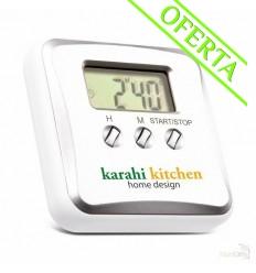 Reloj de Cocina con Alarma y Cuenta Atrás Publicidad