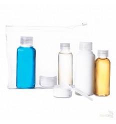 Neceser con 6 Envases Vacíos Publicidad