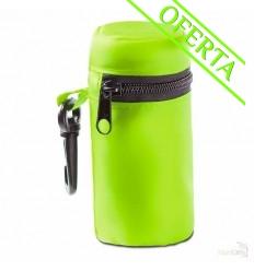 Bolsa de la Compra con Funda con Cremallera Merchandising Color Verde Lima