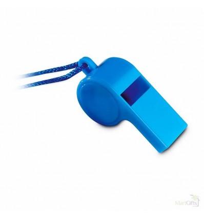 Silbato de Deporte con Correa Color Azul