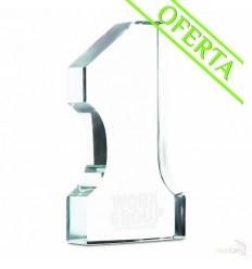 Trofeo de Cristal Número Uno Publicidad
