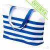 Bolsa de Playa Bicolor Marinera Color Azul