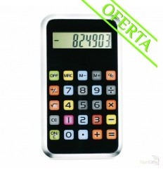 Calculadora de 8 Dígitos Estilo Smartphone Publicidad