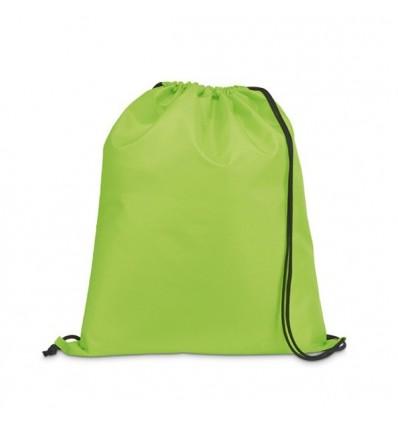 Petate Mochila Poliéster para Publicidad Promocional - Color Verde Claro