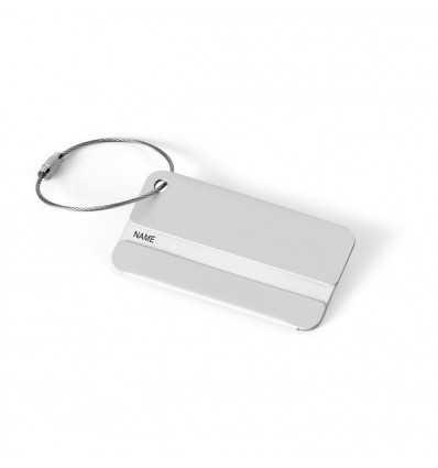 Identificador de Aluminio para Maleta Personalizado
