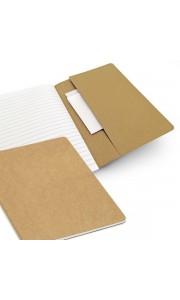 Bloc de Notas de Cartón Reciclado con Bolsillo