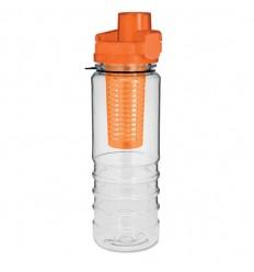 Botella con compartimento para fruta promocional Color Naranja