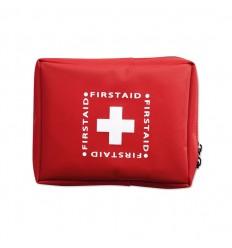 Kit de Primeros Auxilios Promocionales en Funda - Color Rojo