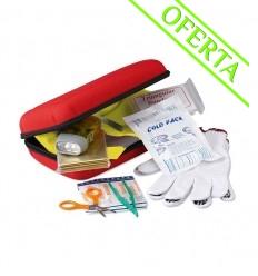 Kit de Seguridad Promocional para Coche - Color Rojo