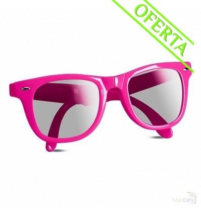 Gafas de Sol Plegables Personalizadas Color Rosa