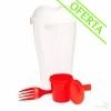 Tupperware Promocional Rojo para Ensaladas