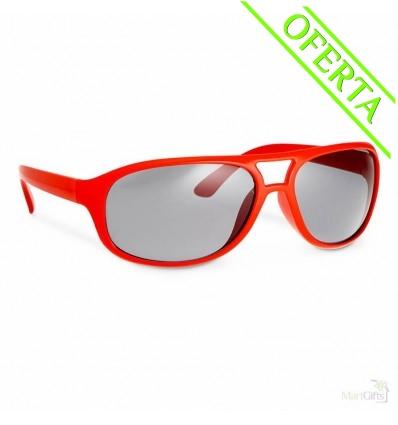 25edf56925 Gafas de Sol Publicitarias de Policarbonato - Color Rojo