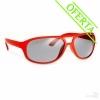 Gafas de Sol Publicitarias de Policarbonato - Color Rojo