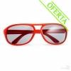 Gafas de Sol Publicitarias plegadas Rojas