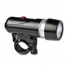 Linterna Personalizada con 5 LED con Soporte para Bicicleta