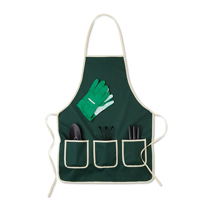 Set de accesorios de jard n con delantal regalo promocional for Accesorios jardin