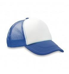 Gorra de Béisbol de Poliéster con 5 Paneles para Eventos Promocionales Color Azul