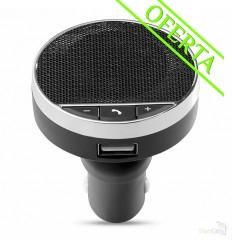 Manos Libres Bluetooth con Cargador para Coche Publicitario