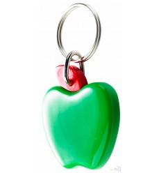 Llavero Publicitario Manzana Apple Promocional Color Verde
