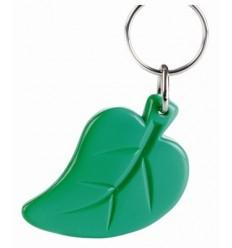 Llavero Publicitario Hoja Leaf Promocional Color Verde