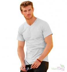 Camiseta personalizada Value Cuello V para Publicidad