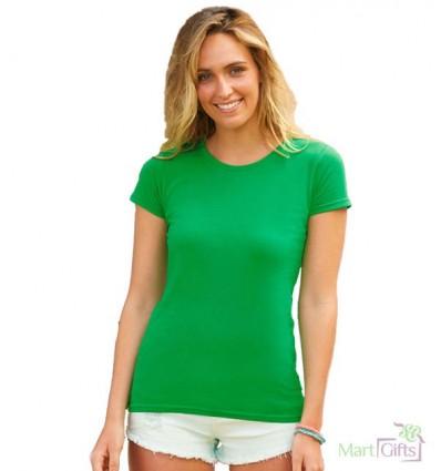 Camiseta Sofspun de Mujer Publicitaria