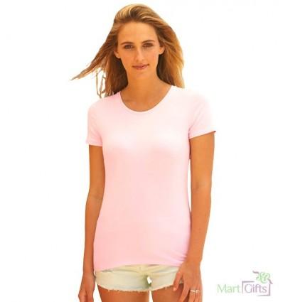 Camiseta de Mujer Entallada Publicidad