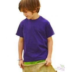 Camiseta Value de Niño para Publicidad