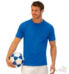 Camiseta Promocional Técnica Transpirante con Logo Publicitario