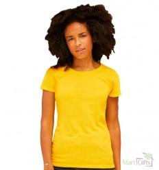 Camiseta Promocional Original para Mujer con Logo de Empresa