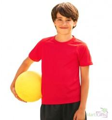 Camiseta Técnica Transpirante Infantil con Publicidad
