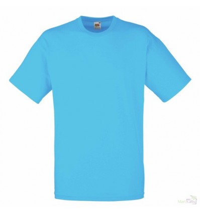 Camiseta Publicidad Value para Regalar Color Azul Azure