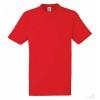 Camiseta Promocional Heavy Publicidad Color Rojo