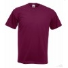 Camiseta Super Premium Promocional para Empresa Color Granate