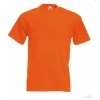 Camiseta Super Premium Promocional Barata Color Naranja