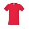 Camiseta Publicidad Sofspun con Logo Promocional Color Rojo