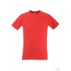 Camiseta Promocional Value Entallada Merchandising Color Rojo
