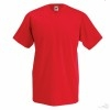 Camiseta personalizada Value Cuello V para Eventos Color Rojo